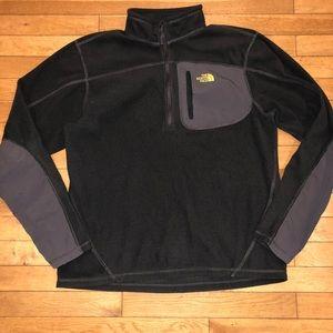 Men's The North Face fleece half zip jacket
